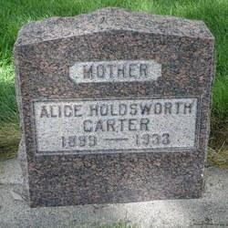 Alice Holdsworth Carter