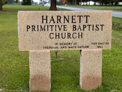 Harnett Primitive Baptist Church Cemetery