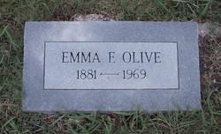 Emma Florence <I>Baugh</I> Olive