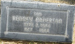 Rodney Anderson