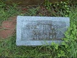 "Martha ""Minnie"" <I>Hairston</I> Orr"
