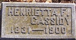 Henrietta <I>Faulkner</I> Cassidy