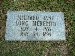 Mildred Jane <I>Long</I> Meredith