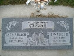"Sarah Ellen ""Sara"" <I>Hatch</I> West"