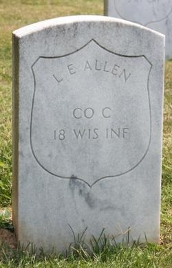 Pvt Levi E Allen