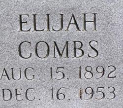 """Elijah """"Lige"""" Combs"""