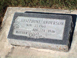 Josephine <I>Hansen</I> Anderson