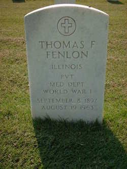 Thomas F Fenlon