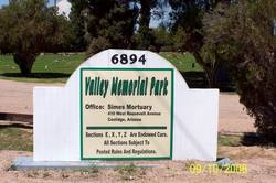 Valley Memorial Park Cemetery