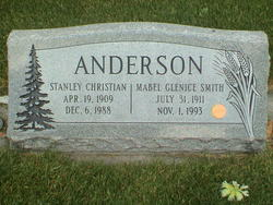 Mabel Glenice <I>Smith</I> Anderson