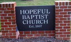 Hopeful Baptist Church Cemetery