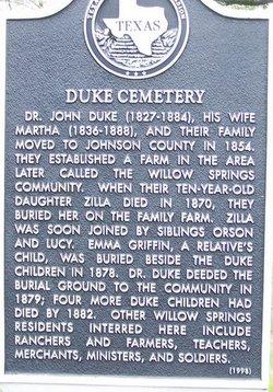 Duke Cemetery