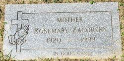 Rosemary <I>Spando</I> Zagorsky