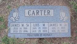 Lois Madeline <I>Beal</I> Carter