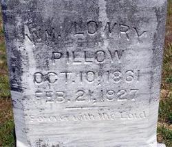 William Lowry Pillow