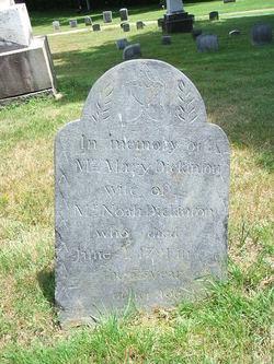 Mary <I>Dickinson</I> Dickinson