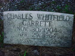 Charles Whitfield Garrett