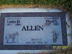 Hazel Irene <I>Webley</I> Allen