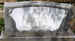 George Taylor Lee