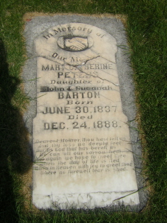 Mary Catherine <I>Barton</I> Ivie