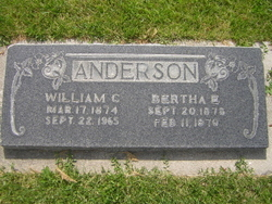 Bertha Elizabeth <I>Young</I> Anderson