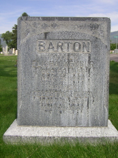 Celestial Eliza <I>McArthur</I> Barton