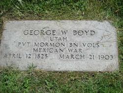 Pvt George Washington Boyd