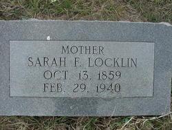 Sarah Frances <I>Large</I> Locklin