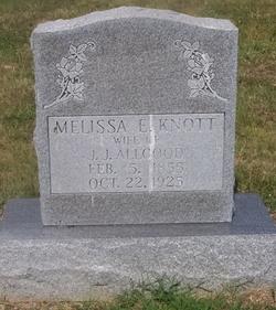 Melissa E. <I>Knott</I> Allgood