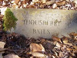 Thousberry Bates