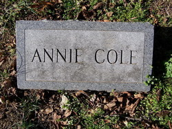 Annie Bell <I>Kidwell</I> Cole