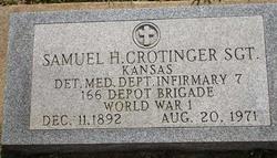 Sgt Samuel Hiram Crotinger