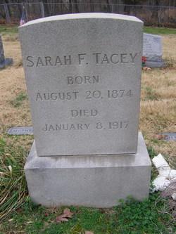 Sarah Frances <I>Bailey</I> Tacey