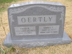 Emma Louise <I>Mountjoy</I> Oertly