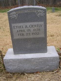 Ethel Adelia <I>Carney</I> Oertly