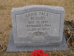 Annie Cornelia <I>Tacey</I> Bushey