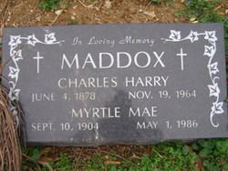 Charles Harry Maddox