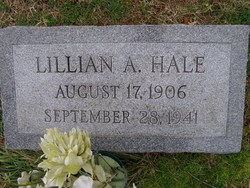 Lillian Agnes <I>Sullivan</I> Hale