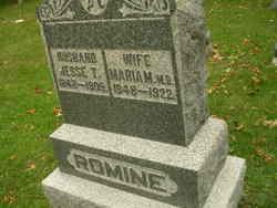 Dr Maria M <I>Downing</I> Romine