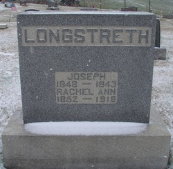 Rachel Ann <I>Jones</I> Longstreth
