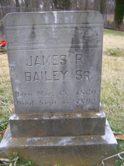James Robert Bailey, Sr
