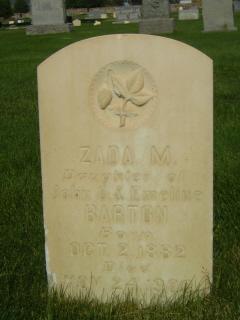 """Zada """"Sadie"""" Barton"""