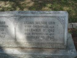 Lillian <I>Milner</I> Orr