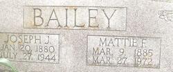 """Joseph Jones """"JJ or Joe"""" Bailey"""