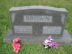 Altha Jane <I>Woolman</I> Brown