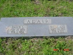 Willie Ann <I>Greer</I> Adair