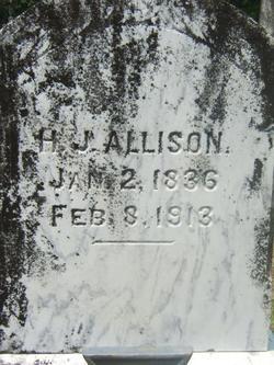 """Hugh. James """"H.J."""" Allison"""