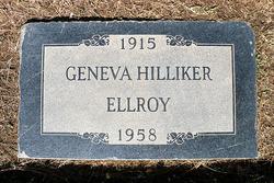 "Geneva Odelia ""Jean"" <I>Hilliker</I> Ellroy"