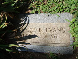 Clyde B. Evans