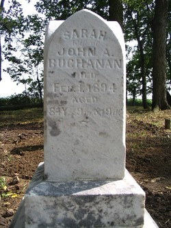Sarah <I>Dearinger</I> Buchanan
